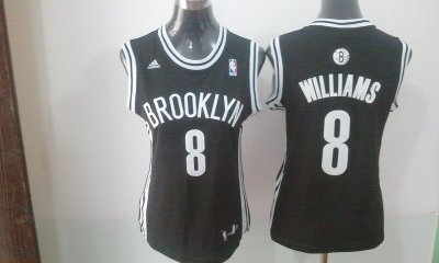Buy Discount women brooklyn nets 8 williams Clothing black revolution 30 swingman NYJ4371