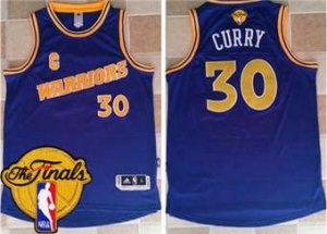 Cheap Buy Online Gear Warriors #30 Stephen Curry Gold Throwback The Finals Patch Stitched QHQ1850