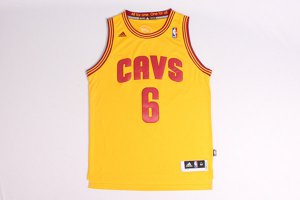 Cheap Online Sale Lebron James Jersey Cleveland Cavaliers yellow HIG1208