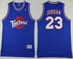 Cheap price The Movie Space Jam 23 Michael Jordan Blue Soul NBA Swingman INK1508