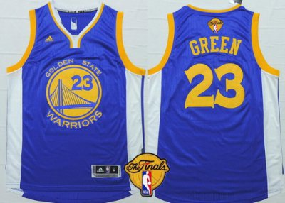 Cheaper Golden State Warriors #23 Draymond Green Blue NBA 2016 The Finals Patch GEH13