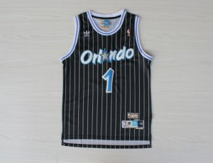 Comfortable and dry Orlando Magic #1 NBA Black WSL3167