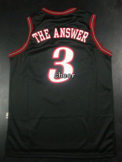 Comfortable And Dry Sixers  3 The Answer Gear Black VLG3280 28be49cfa0