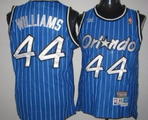 Hot Sale Online Orlando Magic #44 Jason Williams Blue Hardwood Classics Soul Jersey Swingman Throwback HHN3188