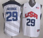Latest The united Jersey States #29 George white XYX4089
