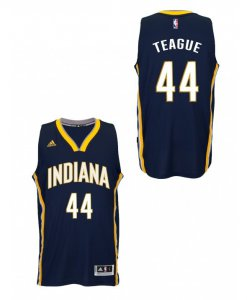 Outlet Indiana Pacers #44 Jeff Teague Merchandise Swingman Road Navy QPM1981