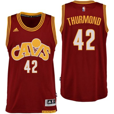 Quick-drying fabric Cleveland Cavaliers# Basketball 42 Nate Thurmond Hardwood Classics Red FCE1041