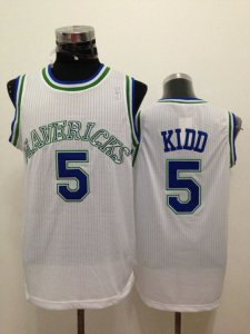 Shop Discount Dallas Mavericks 5 Kidd White Apparel JVK1309