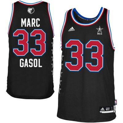 Best Jersey Mens Western Conference Marc Gasol Black 2015 All Star Game Swingman TZZ156