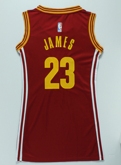 the best attitude f9fd6 a1ce3 Best Women Cleveland Apparel Cavaliers 23 LeBron James Red ...
