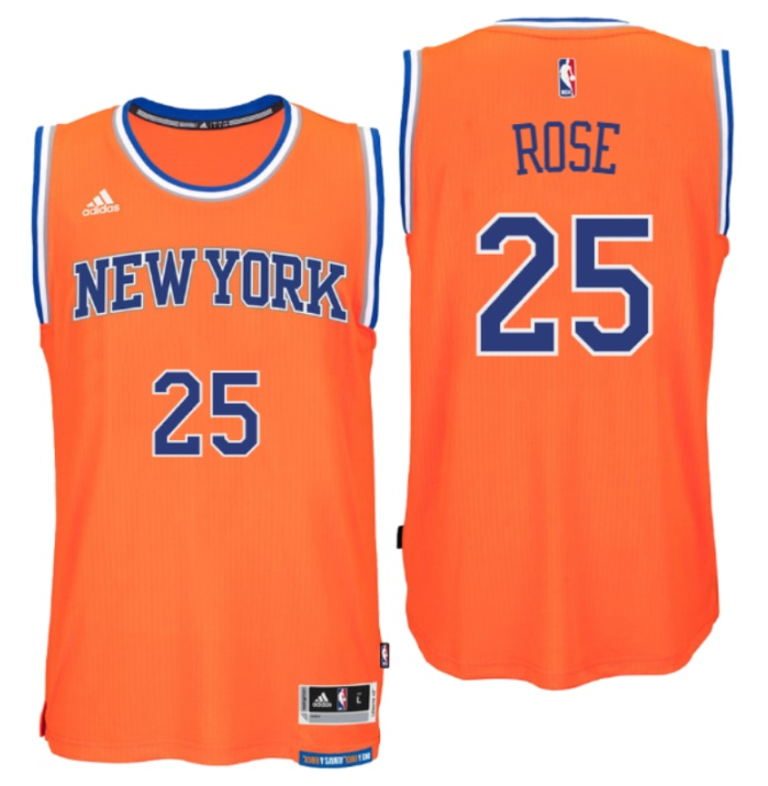 Cheap Buy Online York Knicks 25 Derrick Rose Orange Jerseys Replica IPN2989 7f3aa14c2