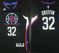 Cheap New Los Angeles Clippers #32 Blake Griffin Gear Black Alternate Stitched KZT2274