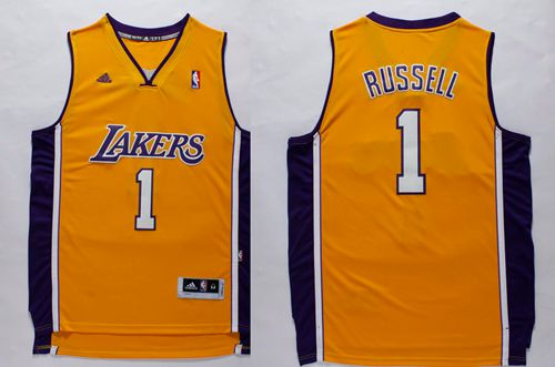 reputable site f3c25 6523f Comfortable And Dry Lakers #1 Apparel D'Angelo Russell ...