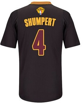 Delicious Gear 2016 Cavaliers Finals #4 Shumpert Sleeved black LAV243
