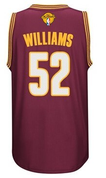 Durable 2016 Clothing Cavaliers Finals #52 Mo Williams red KAB247