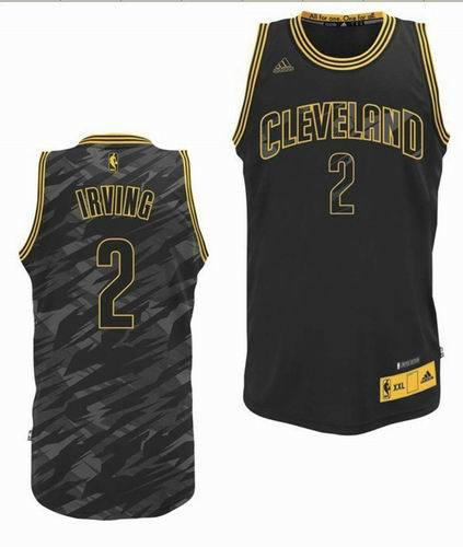 reputable site ed2d4 d627e For Sale Cleveland Cavaliers #2 Kyrie Irving Black Swingman ...