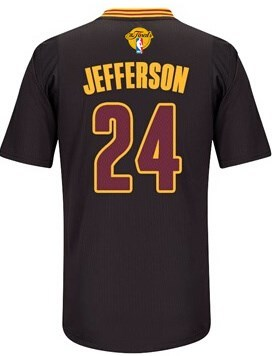 Good work 2016 Cavaliers #24 Jefferson Jersey Finals Sleeved black LPQ223