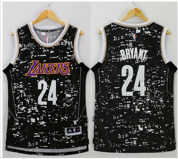 sneakers for cheap a9259 3536d Hight Quality Jersey Los Angeles Lakers  24 Kobe Bryant Black City Light  Stitched APM2398, Nba Shirts, Nba Basketball Sweatshirts Free Shipping