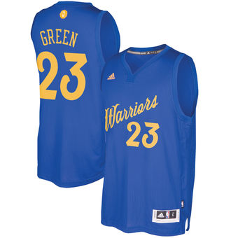 Lowest price guarantee Golden State Warriors #23 Draymond Green Jersey Royal 2016 Christmas Day Swingman YGU955