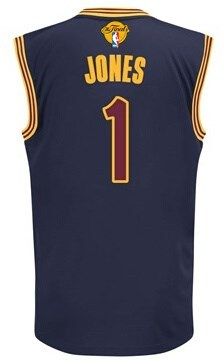 New Arrival 2016 Cavaliers Jerseys Finals #1 Jones navy CWB229
