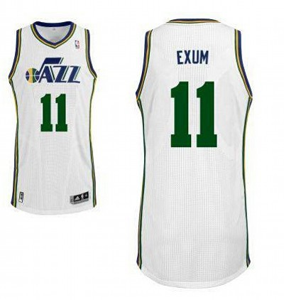 New Arrival 2018 Utah Jazz 11 Dante Exum Revolution 30 Swingman White NBA . EQF4148