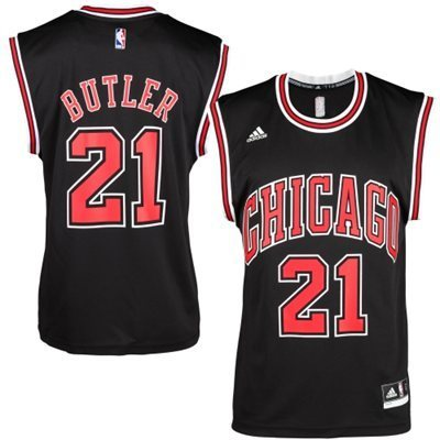 Online #21 Butler Chicago Gear Bulls black (Heat applied) DSB725