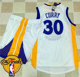 Online Warriors #30 Stephen Jerseys Curry White A Set The Finals Patch Stitched Suit YZI1853
