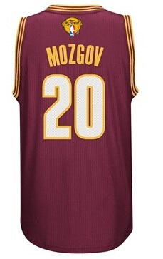 Seiko Cup 2016 Cavaliers Finals Jerseys #20 Mozgov red DYX234