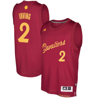 brand new 1046b 8e685 Tailored Cleveland Cavaliers #2 Kyrie Irving Burgundy ...