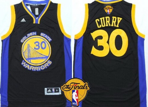 huge selection of 7499b 150c4 Tailored Golden Gear State Warriors #30 Stephen Curry Black ...