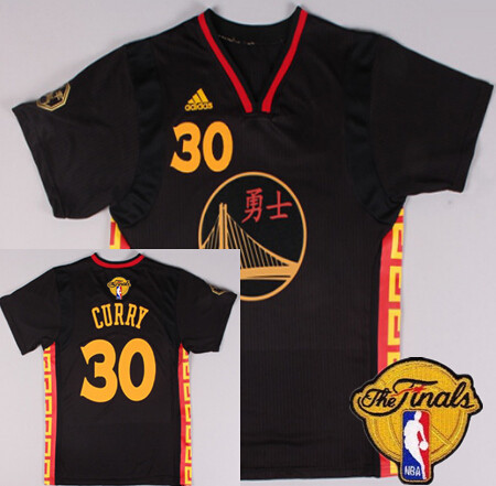 The Cheapest Golden State Warriors  30 Stephen Curry Chinese Black 2016 The  Jerseys Finals Patch WXF24 d40655036