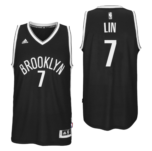 Wholesale Brooklyn Nets  7 Jeremy Lin 2016 Road NBA Black Swingman MNP554 14f62795d