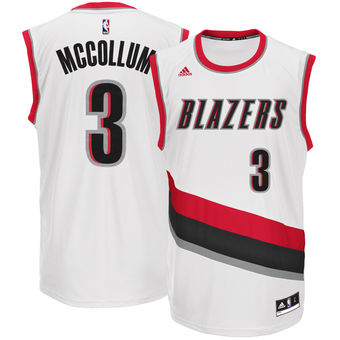 Wholesale Price Men s Portland Trail Blazers C.J. McCollum White Apparel  Home Replica TAX3465 91f2161d2