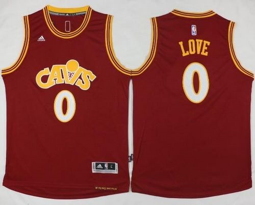 cheaper Cleveland Gear Cavaliers #0 Kevin Love Red CAVS Stitched KUG1068